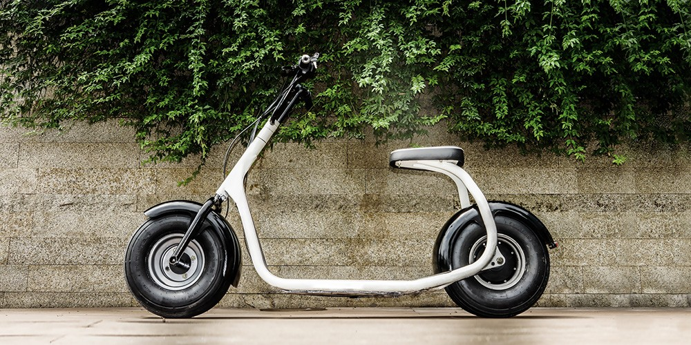 Ssr Seev 800 800w Electric Fat Tire Scooter