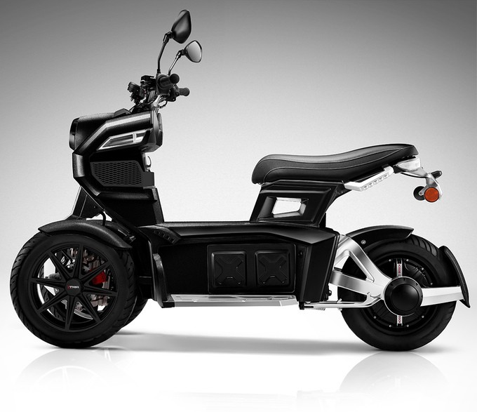 Doohan Itank 2 0 3 Wheeled Electric Scooter 2018 Model